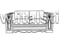 Диван 2-местный (Art.1468V2) - Montalcino