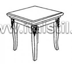 Столик для лампы (Art.1470V2/TL1) - Montalcino