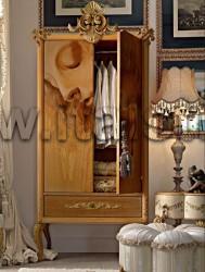 Шкаф с 2-мя створками и кистями (Art. Vip700D) - Affresco
