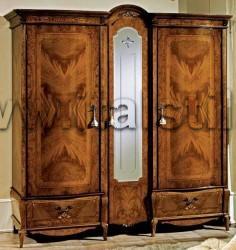 Шкаф 3-дверный (Art. 033) - Isabel Naturale
