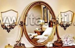 Зеркало к туалетному столу (Art. 075) - Isabel gold