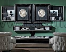 Стойка для ТВ с раздвижными створками Vismara CLASSIC