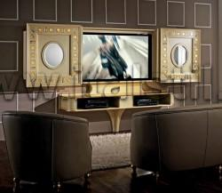 Стойка для ТВ с раздвижными створками Vismara COLD EYES