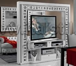 Стойка для ТВ поворотная Vismara SILVER EYES