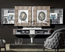 Стойка для ТВ с раздвижными створками Vismara MODERN